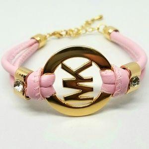 Michael Kors Handmade Leather Wrist/Ankle Bracelet